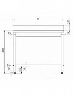 Cubetas Gastronorm 2/4 - 100 mm