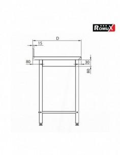 Campana con Filtros 300x110x70 cm