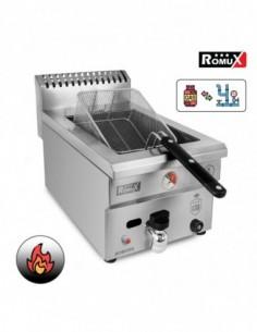 Plancha Gas Acero 50X40X20 cm