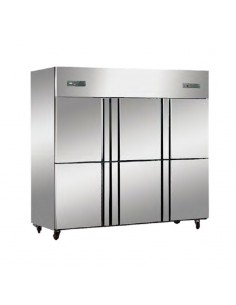 Bajo Mostrador Refrigerado Ventilado 2 Puertas 120x60x80 cm