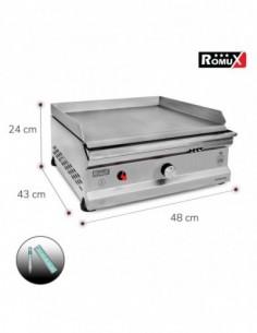 Bajo Mostrador Ensaladas Ventilado Gastronorm 390 L. 180x70x100 cm 3 Puertas
