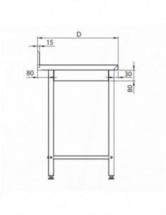 Cubetas Gastronorm 1/4 - 150 mm ST