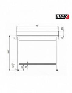 Cubetas Gastronorm 1/6 - 65 mm ST